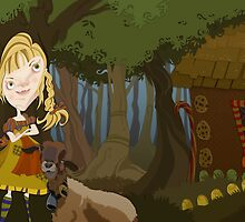 Hansel and Gretel by looselinedesign