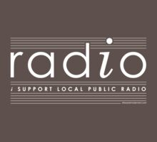 """Radio"" (I Support Local Public Radio) by afterpostmodern"