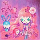 Hearts For Bunnies by TenshiNoYume