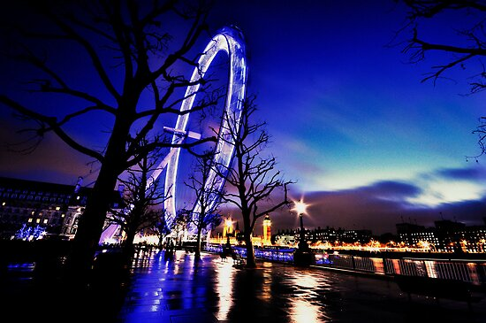 The Millennium Wheel an artistic perspective by Darren Bailey LRPS