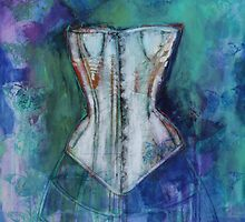 Corset And Butterflies by Maria Pace-Wynters