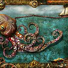 Steampunk - The tale of the Kraken by Mike  Savad