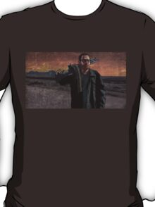 Walter White with Big Gun T-Shirt