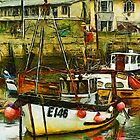 West Bay harbour, Dorset, UK  by buttonpresser