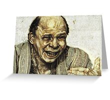 Vizzini from Princess Bride Greeting Card