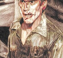 Ash from Evil Dead II (2) by AaronBir