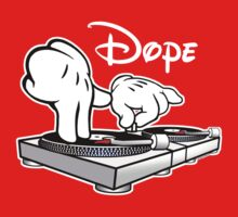 Dope! DJ Cartoon Hands by robotface