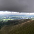 The Brecon Beacons and Low Cloud by Andy Coleman