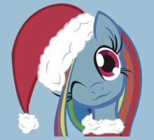 Merry Christmas Rainbow Dash by everlander