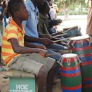 Boys playing drums by TravelGrl