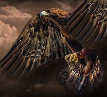 ☝ ☞ GOLDEN EAGLE IN FLIGHT ☝ ☞ by ✿✿ Bonita ✿✿ ђєℓℓσ