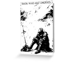 Oscar of Astora Greeting Card