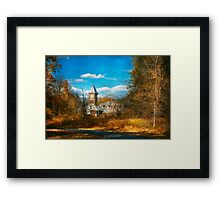 Architecture - The university Framed Print