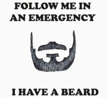 FOLLOW ME, I HAVE A BEARD by bigredbubbles6