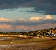 Grandcamp Un Soir / The Bay in the Evening by cclaude