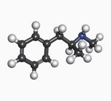 breaking bad Methamphetamine molecule B by rbslave1