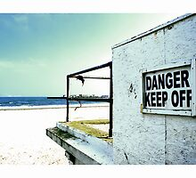 Danger- keep off by Tim Constable by Tim Constable