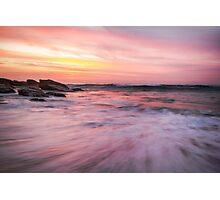 Watercolour Sunrise Photographic Print