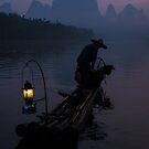 Li River Fisherman by Neville Jones