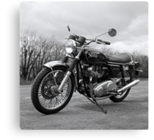 Norton Commando Canvas Print