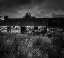 Cottage at Glen Roy by Alan E Taylor