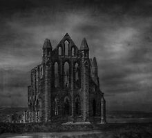 Whitby abbey textured by John-Adams
