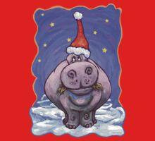 Hippopotamus Christmas Kids Clothes