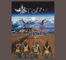 Tuskegee Airmen T-Shirt by Tollie Schmidt Kids Clothes