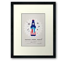 My SUPER SODA POPS No-14 Framed Print