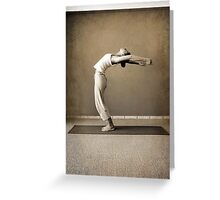 yoga11 Greeting Card