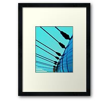 Cabled Framed Print