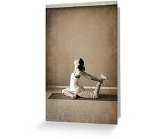 yoga15 Greeting Card
