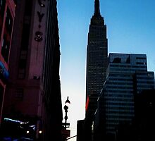 Empire State Sunrise by JamesAiken