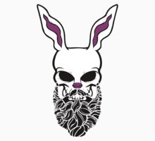 Rabbit Skull Beard by mijumi