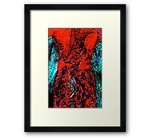 There is a hole in me somewhere.... Framed Print