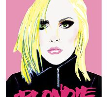 Punk Artist Debbie Harry - Blondie by lindseybaker