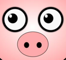 Little Cute Piggy Sticker