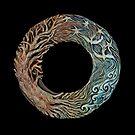 Mandala: solstice sacred circle by Mona Shiber