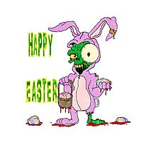 Zombie Easter Photographic Print