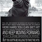 Rocky Poster by gentilj17