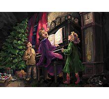 Christmas Sing Along Photographic Print