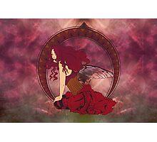 Fairy Nouveau Photographic Print