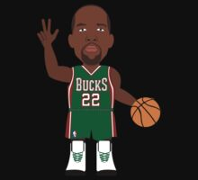 NBAToon of Michael Redd, player of MIlwaukee Bucks by D4RK0