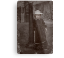 Child Of The Street Metal Print