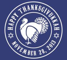 Happy Thanksgivukkah by waywardtees