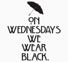 On Wednesdays We Wear Black. (American Horror Story) by michellelo