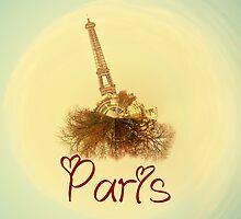 Eiffel tower in love by ramosnuno