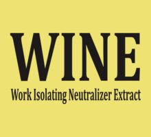 WINE (Work Isolating Neutralizer Extract) by omadesign