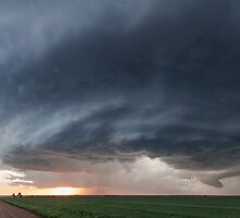 Mothership storm structure near Ness City, Kansas by Dave Ellem