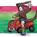 KMAY Hoodkid Kangaroo Fireman by Katherine May